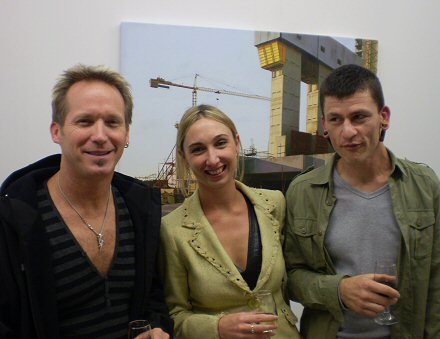 Californian pilates mogul Nathan Daschound, realist fan Nicki and the artist
